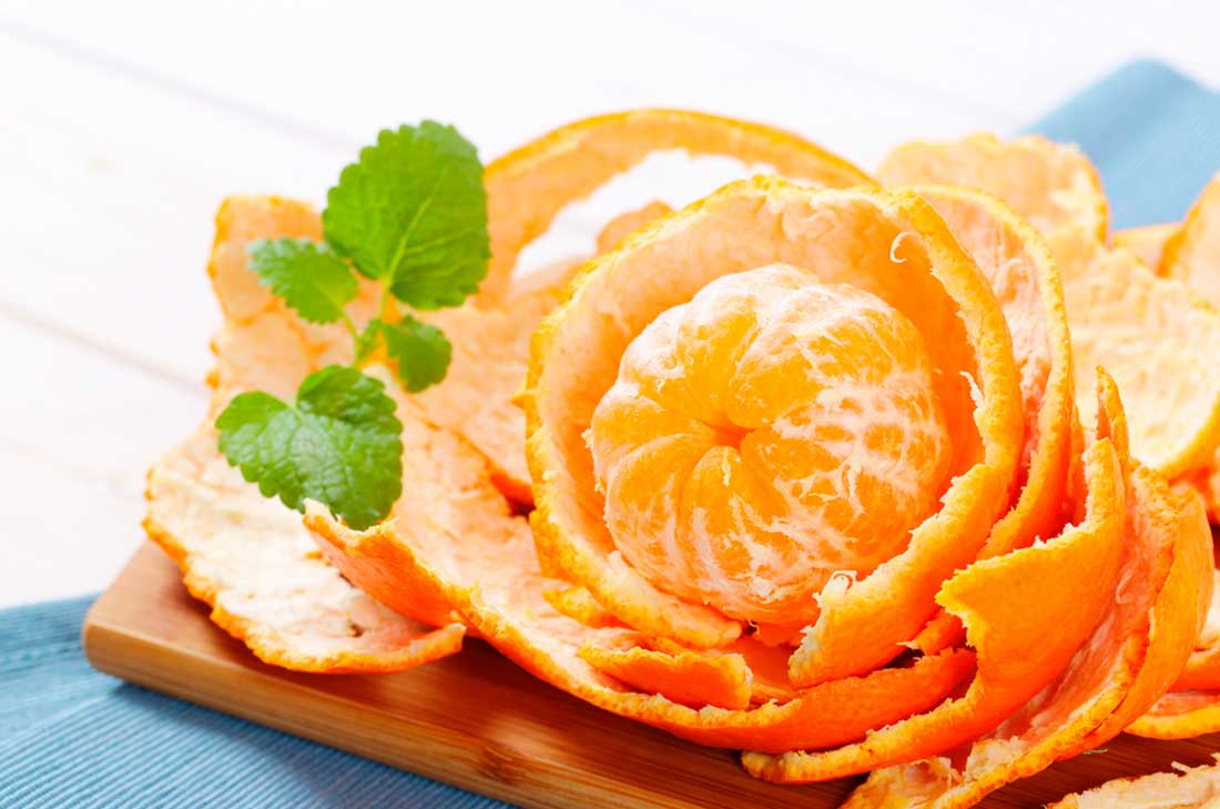 Sabías que la cáscara de mandarina sirve en la prevención del cáncer