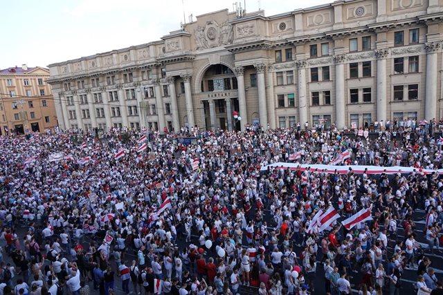 Protestas contra Lukashenko: Miles de personas vuelven a las calles en Bielorrusia