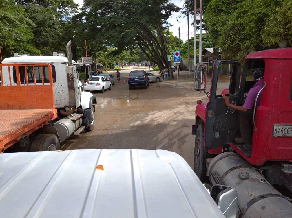 Nueva Esparta amaneció en protestas por la falta de combustible en la entidad
