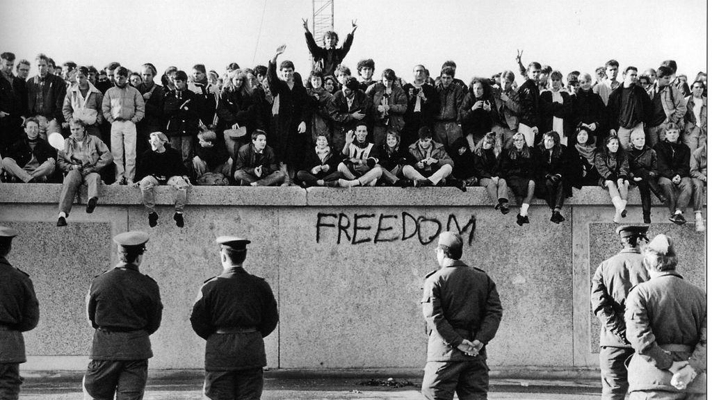 Alemania Dividida Trás La Construcción Del Muro De Berlín