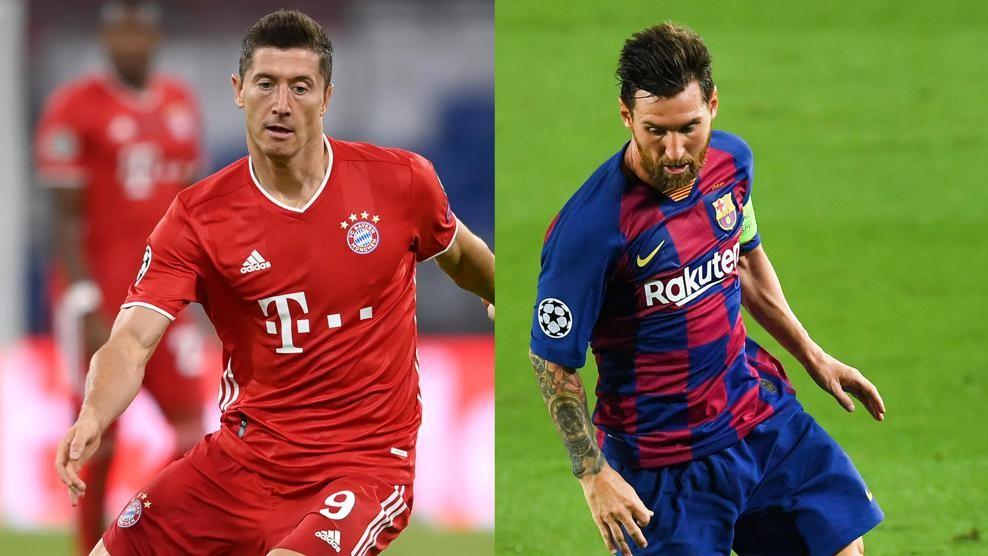 Messi vs Lewandowski, Cuartos de Final Champions League