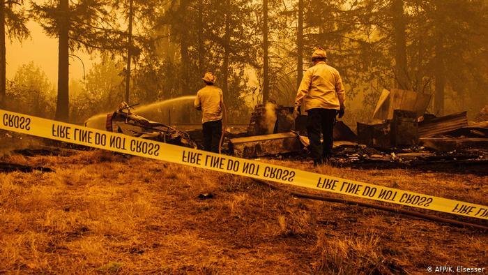 EEUU: Más de medio millón de evacuados en Oregon por incendios