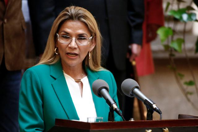 """Áñez exigió """"todo el peso de la ley"""" contra exministro detenido por corrupción"""
