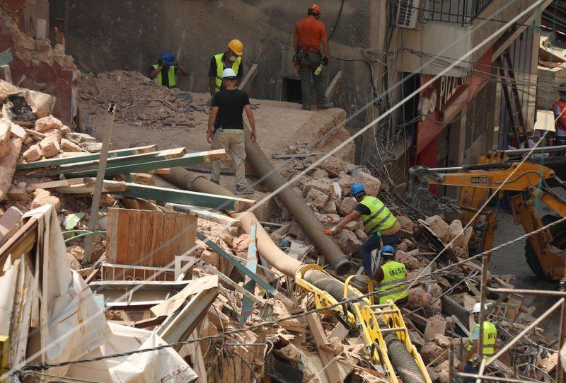 Líbano: Ya no hay señales de vida entre los escombros
