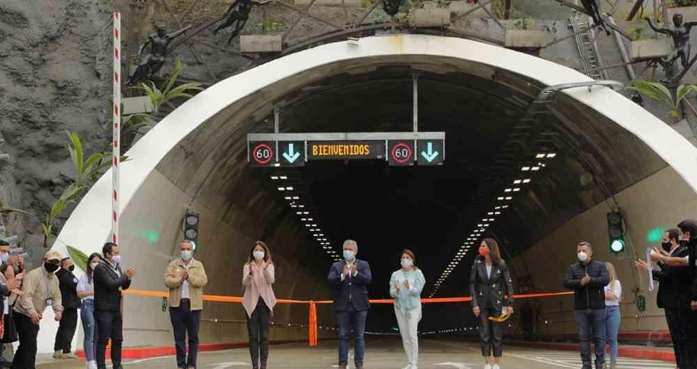 """""""El sueño de un país"""": Se inauguró en Colombia el Túnel de la Línea"""