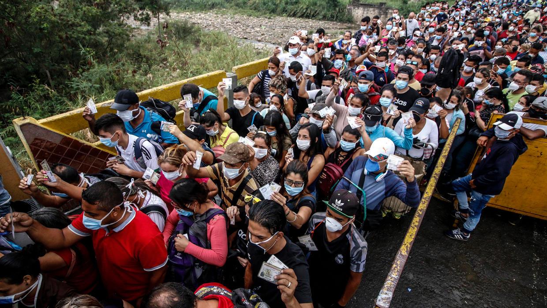 Pandemia Covid-19: OEA asegura que 111.000 venezolanos retornaron a su país desde Colombia y Brasil