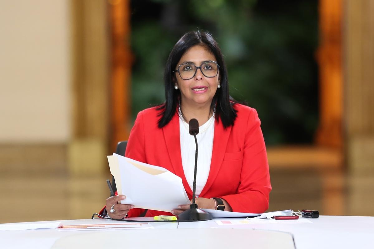 Delcy Rodríguez: Sistema financiero está listo para el proceso de reconversión monetaria desde esta noche