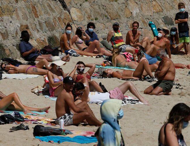Chile: Imponen uso obligatorio de mascarilla en playas y balnearios