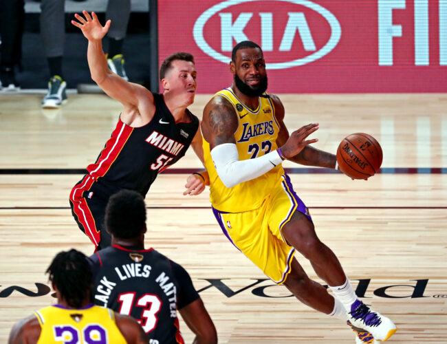 Lakers ganan el primero pero Lebron no está satisfecho