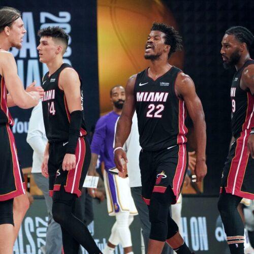 Butler engrandecido y los Miami Heats ganan su primer juego de la final