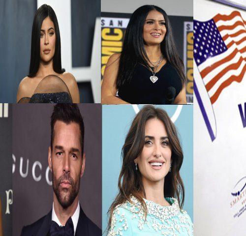 Elecciones EEUU: Personas del mundo del espectáculo invitan a votar