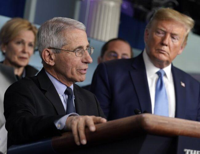 """Donald Trump llamó """"idiota"""" al doctor Anthony Fauci y amenaza con despedirlo por criticar su políticas ante el Covid-19"""
