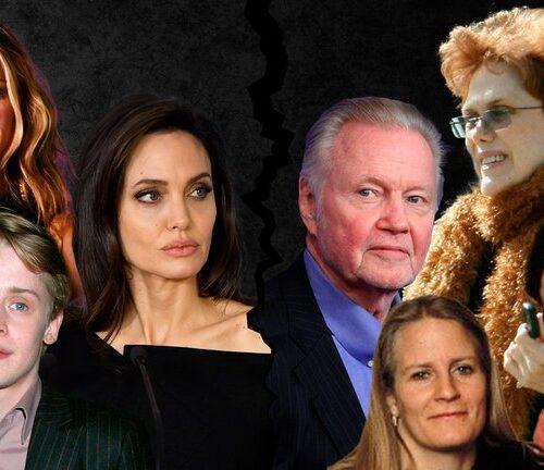 Las estrellas de Hollywood no escapan de los conflictos familiares