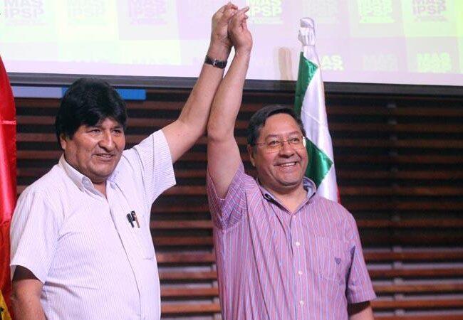 """Luis Arce excluye a Evo Morales de su inminente mandato en Bolivia: """"Si quiere ayudarnos será bienvenido, pero no significa que estará en el gobierno"""""""