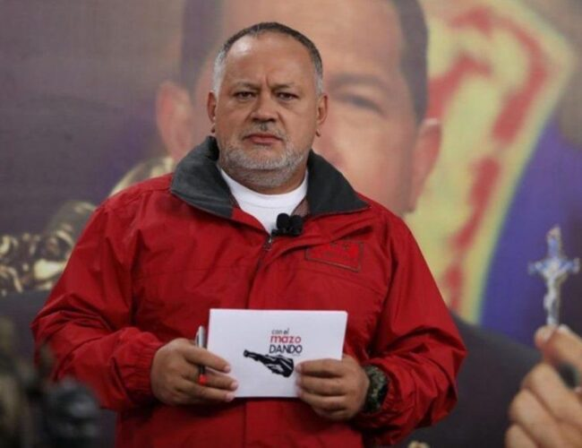 """Diosdado Cabello: """"Salida de Leopoldo López del país es una gran derrota para la oposición"""""""
