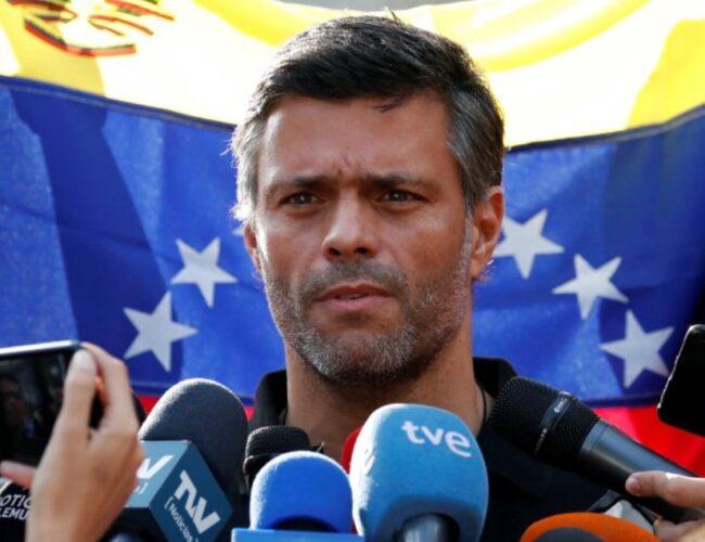 Cancillería española confirma que Leopoldo López se encuentra en Madrid