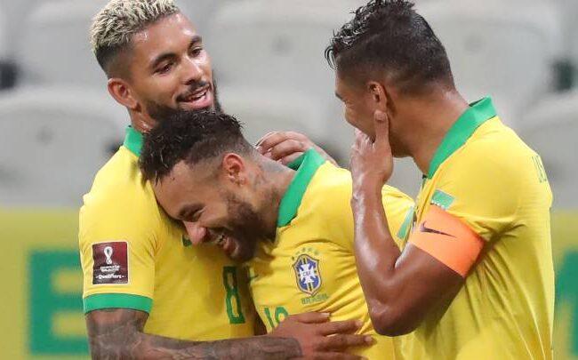Catar 2022: Brasil gana 5-0 a Bolivia y lidera la tabla de las eliminatorias Sudamericanas