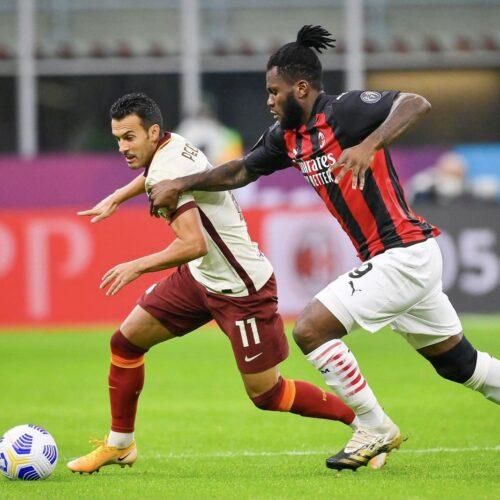 Serie A: Milan y Roma empatan en un juego vibrante y lleno de acción