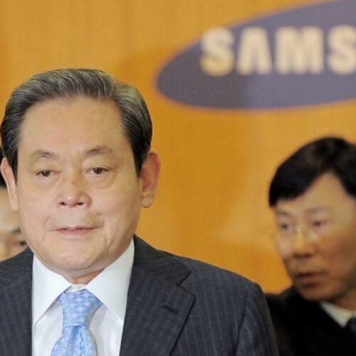 Muerte del presidente de Samsung impulsa las acciones de la empresa en la bolsa