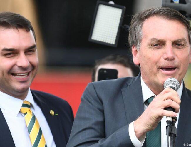 Fiscalía brasileña acusó a hijo de Bolsonaro por delitos de corrupción