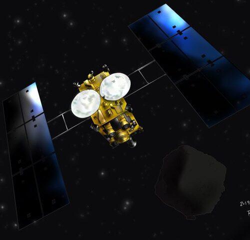 Nave espacial que transporta muestras de suelo de asteroides se acerca a casa