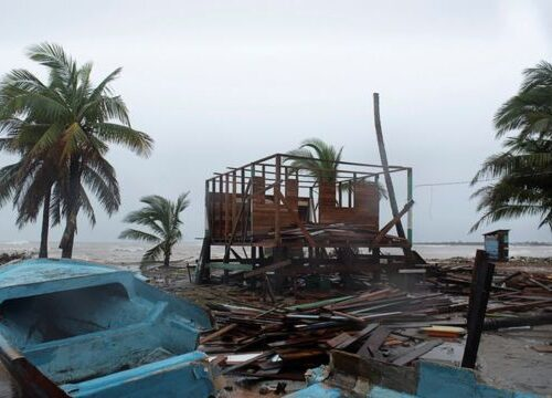 Colombia y Nicaragua dan balance de muertes tras el paso del huracán Iota