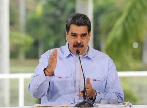Nicolás Maduro exige al gobierno de EEUU liberar el pago de Venezuela a COVAX para la compra de vacunas