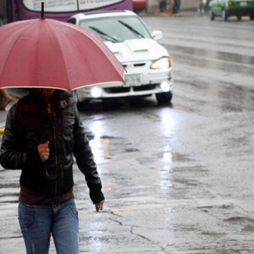Inameh advierte que continuarán las lluvias durante las próximas horas