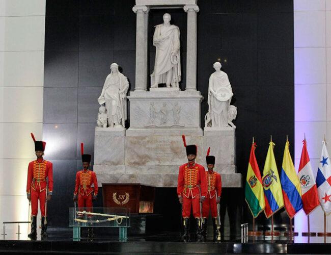 Venezuela conmemora 190 años de la muerte de Simón Bolívar