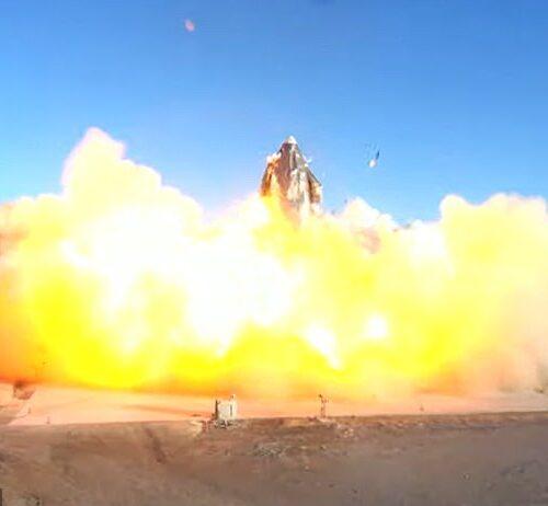 Video | Prototipo de SpaceX explota al intentar aterrizar