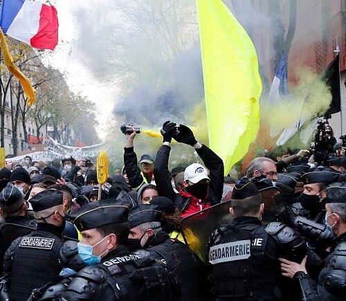 Francia: Nueva ola de protestas contra ley de seguridad de Macron