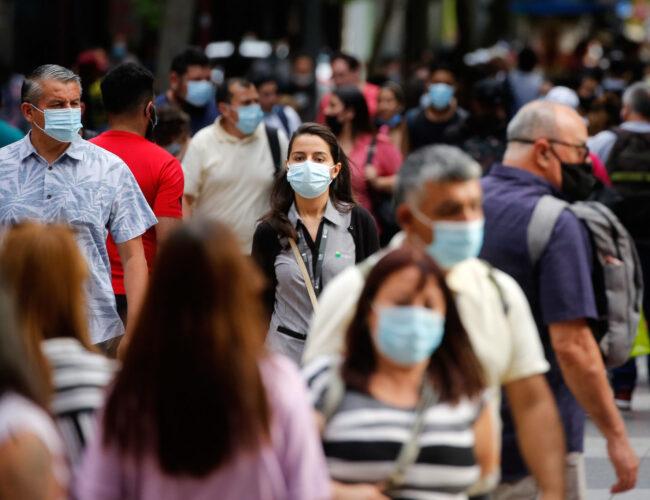 América Latina ya supera los 20 millones de casos de Covid-19
