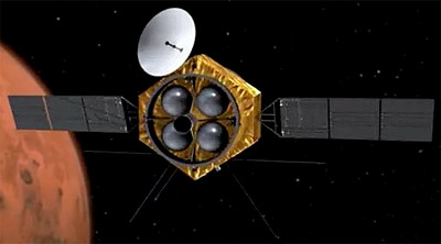 Sonda Tianwen-1 podría llegar a Marte en mayo