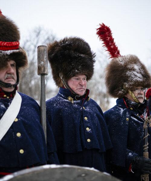 Galería | 200 años después entierran a soldados de Francia y Rusia