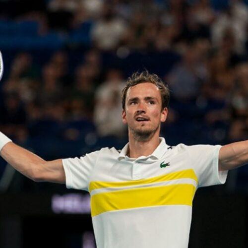 Medvedev sigue en racha: verá a Djokovic en la final del Abierto de Australia