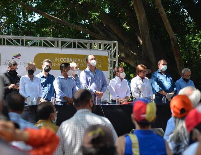 Ex diputados iniciaron gira nacional para exigir condiciones electorales