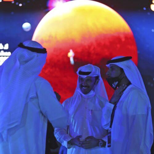 Nave espacial árabe entra en órbita alrededor de Marte en vuelo histórico
