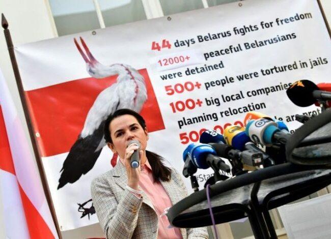Líder opositora en Bielorrusia: hemos perdido en las calles