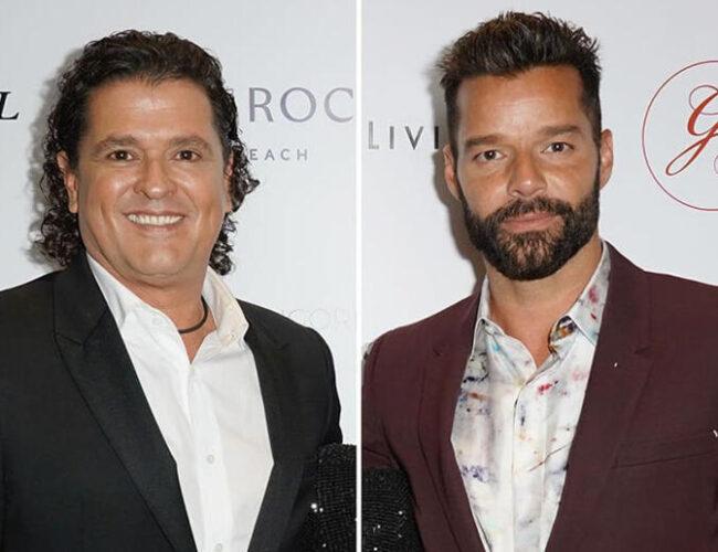 Éxito seguro: Carlos Vives y Ricky Martin graban nuevo video en Puerto Rico