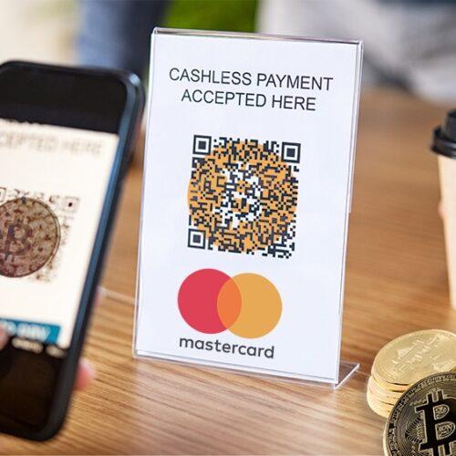 Mastercard autorizará a comercios a aceptar pagos en criptomonedas