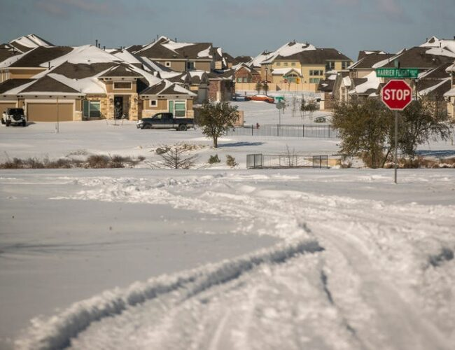 """EEUU: nevada """"sin precedentes"""" deja 4 muertos, accidentes y apagones en 25 estados"""