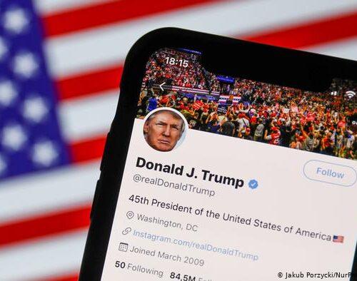 """Cuenta de Twitter de Trump se mantendrá suspendida """"incluso si gana otra vez"""""""