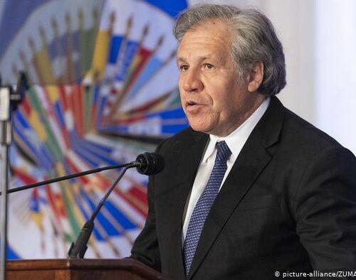 Gobierno de Bolivia quiere llevar a juicio a Luis Almagro por vinculación al golpe de Estado