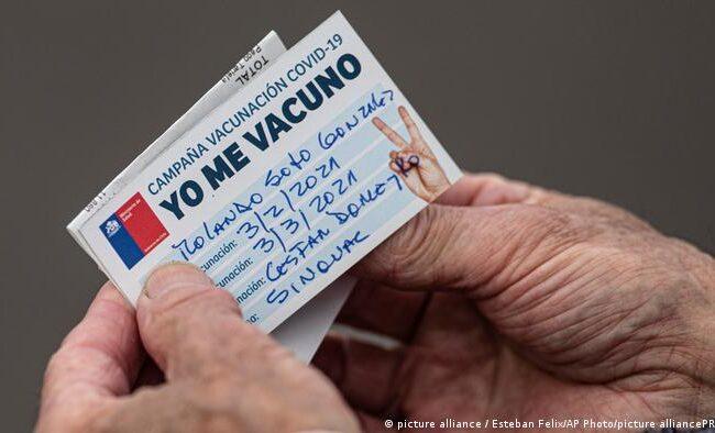 Chile lidera vacunación mundial contra el Covid-19