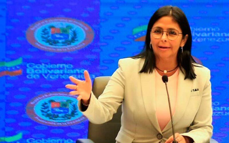 Delcy Rodríguez envió carta a Michelle Bachelet para denunciar persecución de venezolanos en Colombia