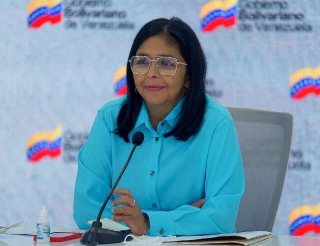 Según Delcy Rodríguez la OMS se comprometió a garantizar flujo de vacunas para Venezuela