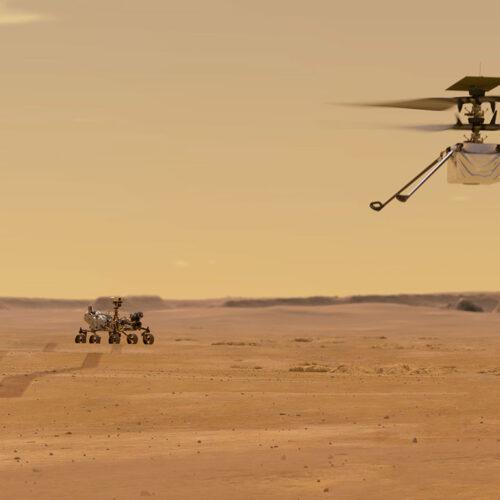 Helicóptero Ingenuity comienza su trabajo de investigación en Marte