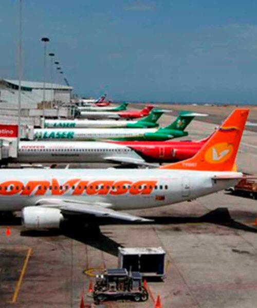 Estiman hasta 214 vuelos en Venezuela para el mes de marzo