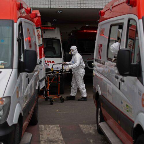 Brasil registra un nuevo récord diario de muertes por Covid-19