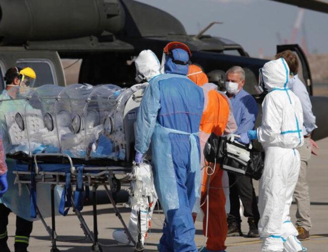 Chile reportó pico de enfermos críticos: el mayor de toda la pandemia
